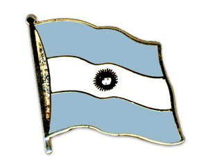 Argentinen Pin Flaggenpin